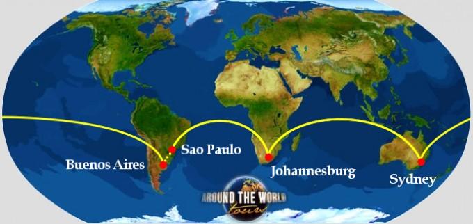 RTW Southern hemisphere