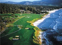 Pebblebeach golf